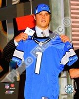Matt Stafford 2009 Draft Day Fine Art Print