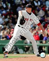 "Jon Lester - 2009 Pitching Action - 8"" x 10"", FulcrumGallery.com brand"