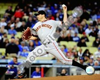 Barry Zito - 2009 Pitching Action Fine Art Print