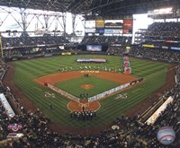 """Safeco Field - 2009 Opening Day - 10"""" x 8"""""""