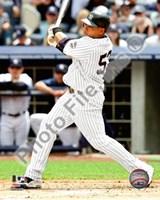 Melky Cabrera - 2009 Batting Action Fine Art Print