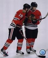 J.Toews / P.Kane - 2009 Playoffs Fine Art Print