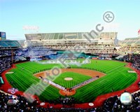 """Oakland Coliseum - 2009 Opening Day - 10"""" x 8"""""""