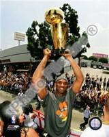 Kobe Bryant 2009 NBA Championship Victory Parade  (#38) Fine Art Print
