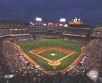 "Rangers Ballpark in Arlington - 2009 - 10"" x 8"""