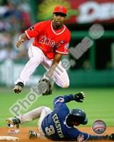 "Chone Figgins - 2009 Fielding Action - 8"" x 10"", FulcrumGallery.com brand"