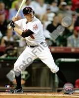 Hunter Pence - 2009 Batting Action Fine Art Print