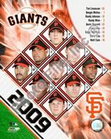 "2009 San Francisco Giants Team Composite, 2009 - 8"" x 10"", FulcrumGallery.com brand"