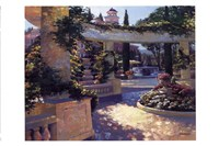 Bellagio Garden Fine Art Print