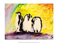 Penguins by Natalie Talocci - various sizes