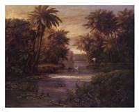 "Lagoon At Daybreak by Montoya - 30"" x 24"""