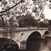 Pont Louis-Philippe, Paris Framed Print