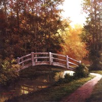 Wooden Bridge II Fine Art Print