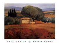 """Petite Ferme by Elisabeth Estivalet - 36"""" x 27"""""""