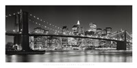 Brooklyn Bridge, 2007 Framed Print