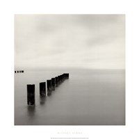 "Lake Michigan Morning, Chicago, Illinois, 2001 by Michael Kenna, 2001 - 28"" x 28"""