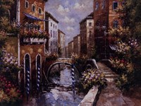 "Venice In Spring by San Giacomo - 36"" x 27"""