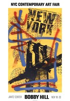 """NYC (Yellow) by Bobby Hill - 14"""" x 20"""""""