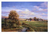 """River View by Dona Gelsinger - 38"""" x 26"""""""