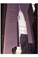 Chrysler Building Architecture Fine Art Print