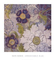 "Unreachable Blue by Kate Birch - 28"" x 30"""