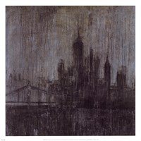 Urban Fog I Fine Art Print