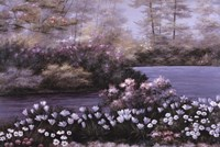 """Blooming Isle by Diane Romanello - 36"""" x 24"""""""