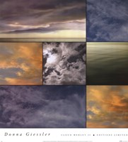 "Cloud Medley II by Donna Geissler - 18"" x 20"""