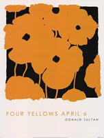 Four Yellows April 6 Framed Print