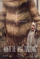 Where the Wild Things Are - style A Fine Art Print