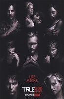 True Blood - RARE Season 2 Character Poster Fine Art Print