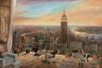 "A New York View by Ruane Manning - 36"" x 24"""