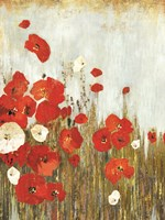 Poppie in the Wind Fine Art Print