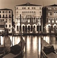 Il Gran Canale di Notte Fine Art Print