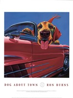 Dog About Town Fine Art Print