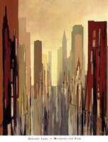 Metropolitan View Fine Art Print