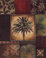 """Palm Collage I by Gregory Gorham - 16"""" x 20"""""""