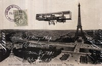 "Aeroplane de Paris by Wild Apple Studio - 36"" x 24"""