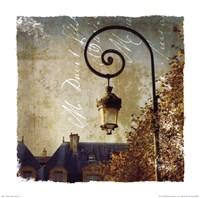 Golden Age of Paris II Framed Print