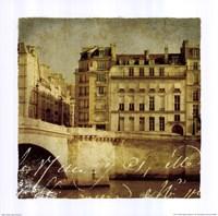Golden Age of Paris III Framed Print