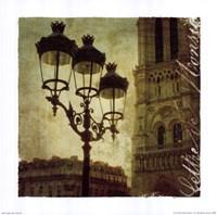 Golden Age of Paris IV Framed Print