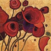Poppies Wildly II Fine Art Print