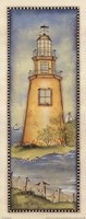 Spring Lighthouse Framed Print