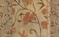 "Antique Floral Vine by Kathrine Lovell - 36"" x 24"""