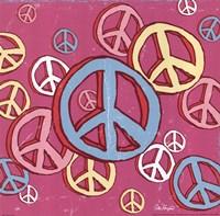 Peace Baby Framed Print