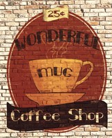 Wonderful Coffee Shop Fine Art Print