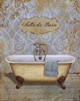 """Salle de Bain I by Daphne Brissonnet - 8"""" x 10"""""""