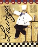 """Chef's Break  II by Veronique Charron - 8"""" x 10"""", FulcrumGallery.com brand"""