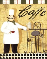 """Chef's Break III by Veronique Charron - 8"""" x 10"""", FulcrumGallery.com brand"""
