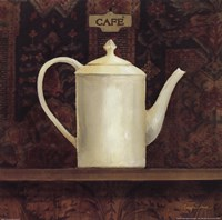 Ornamental Teapot I Fine Art Print